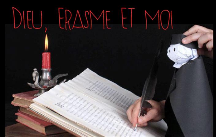 """La compagnie de Capes et de Mots: """"Erasme"""""""