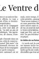 Gazette de Liège, 12 octobre 2015
