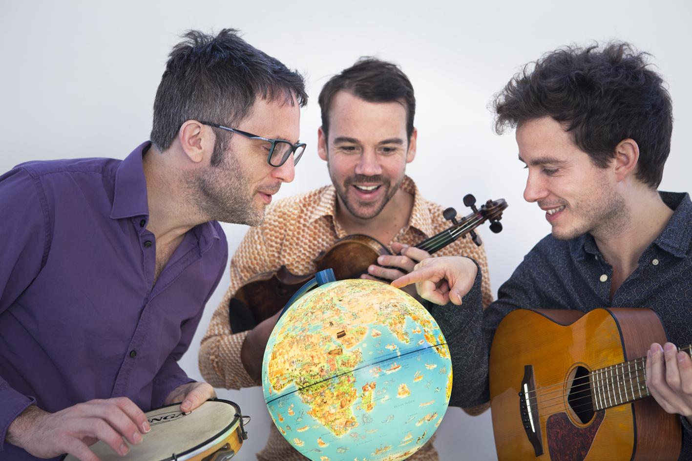 "Le Baya Trio: ""Tour du monde en chansons"""