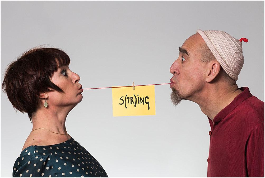 """Aurélie Dorzée et Bernard Massuir: """"S(tr)ing"""" - création 2017"""