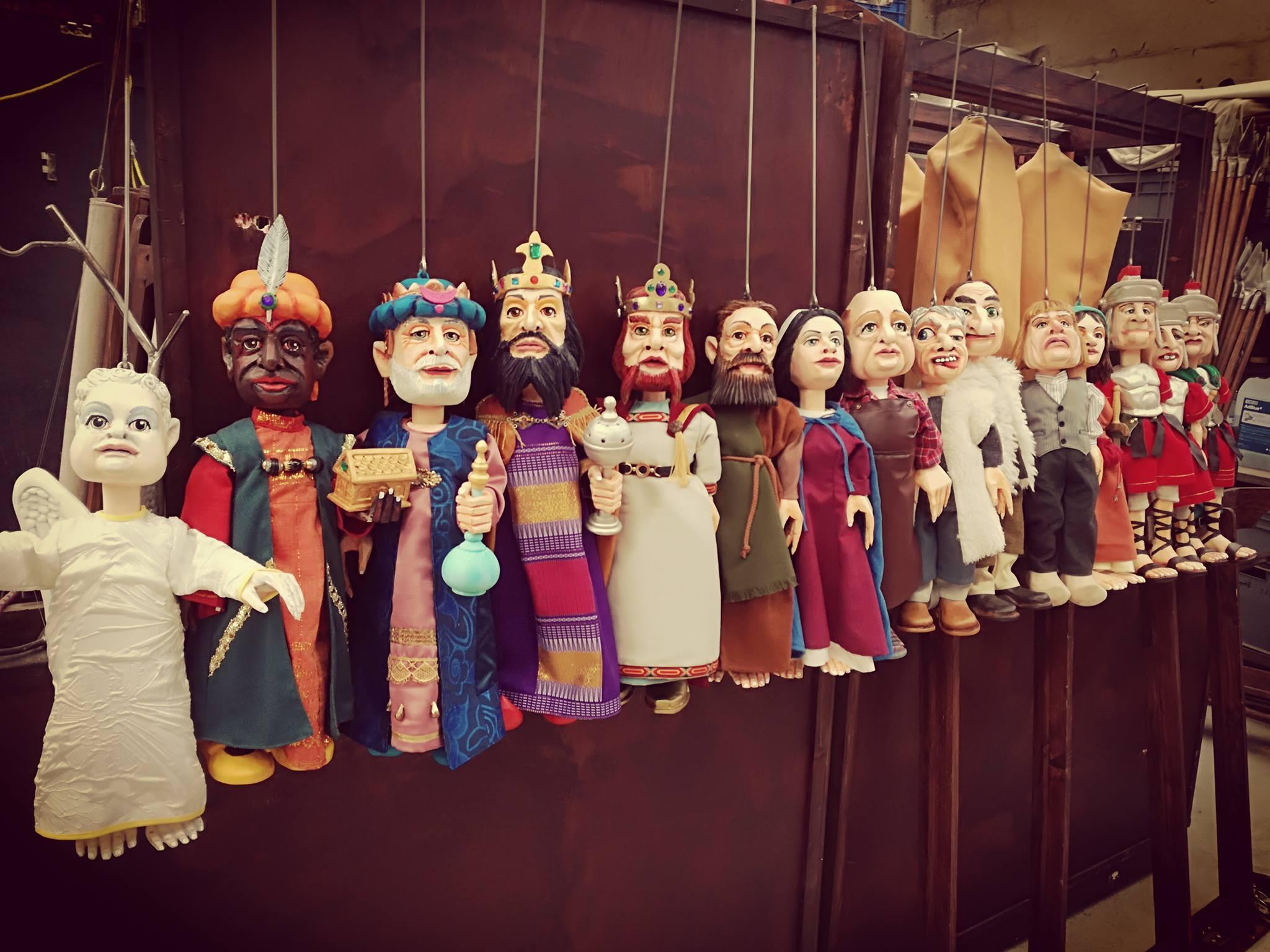 """Les Royales Marionnettes :     """"Lî naissance"""" (création)"""