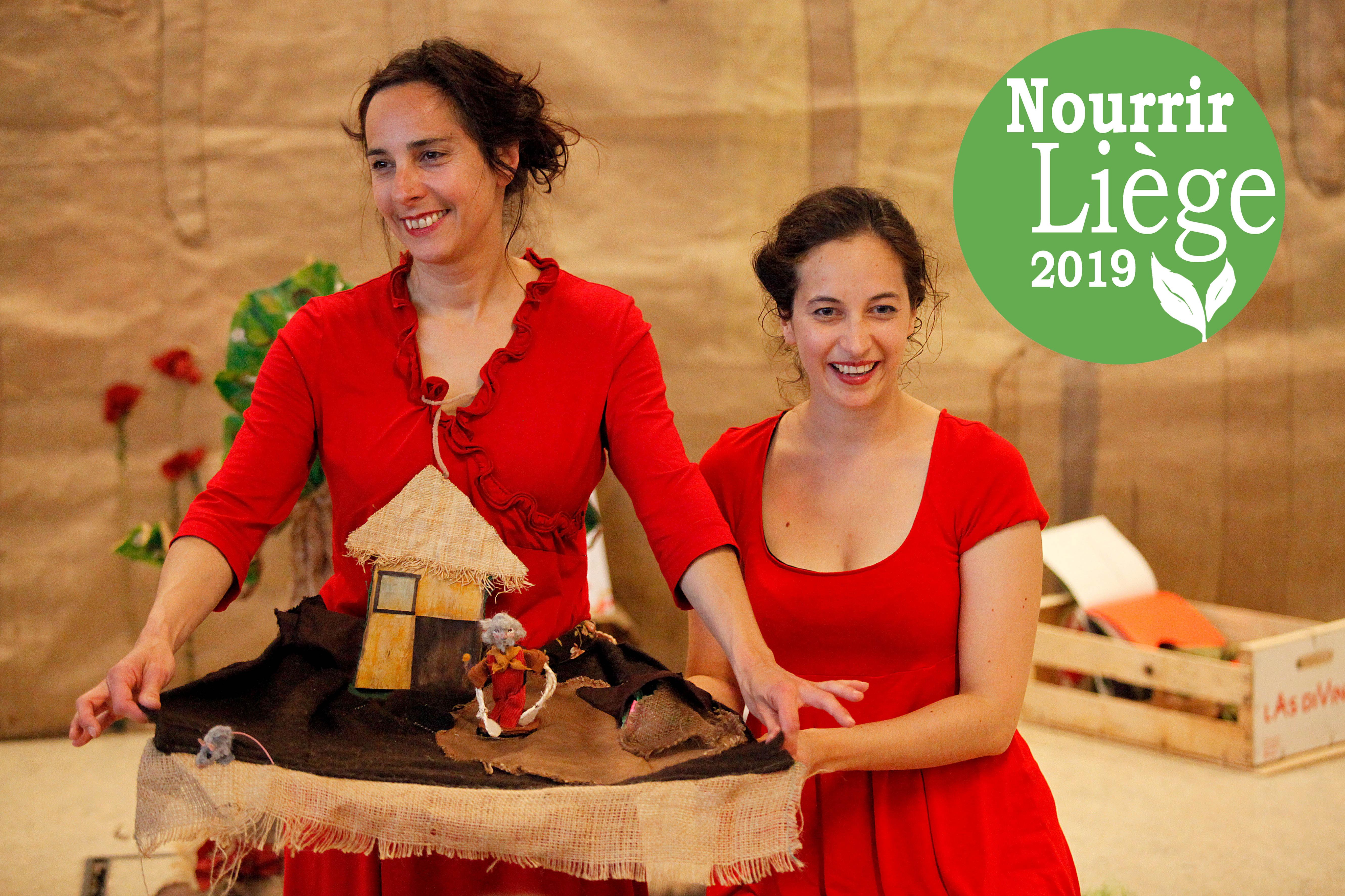 """FESTIVAL  NOURRIR LIÈGE 2019: Les Liseuses """"Sous la feuille de salade"""""""